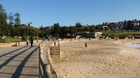 Golden beach at Bronte