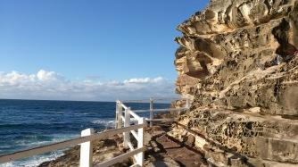 Bronte Pool Cliff