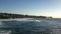Wavy day at Bronte