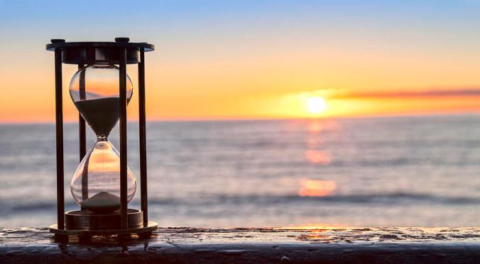 hourglass sunrise