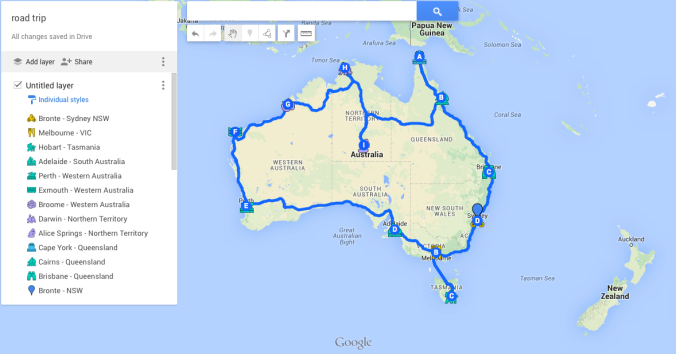 Around Australia