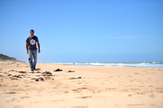 152km of uninterrupted sand